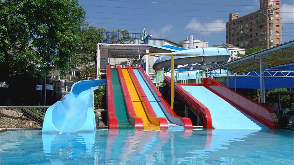 水藍天游泳池