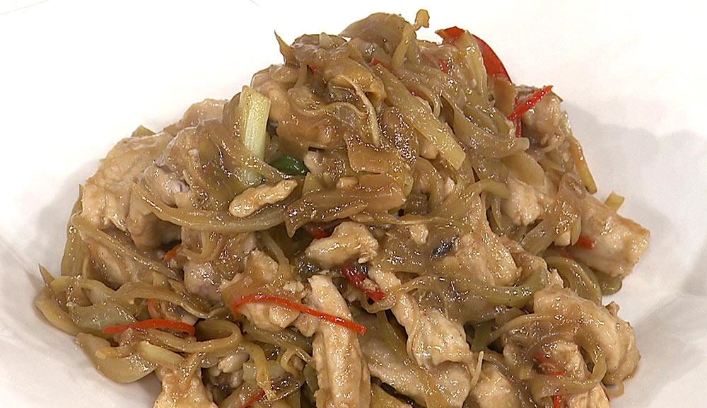 酸菜炒魚肚